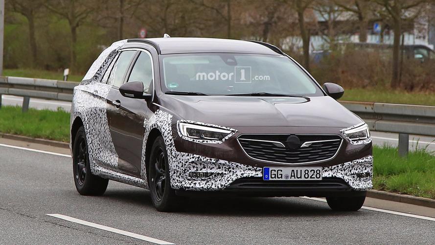 2018 Opel Insignia Country Tourer nouvelles photos espion
