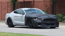 Ford Mustang Shelby GT500 2018 fotos espía