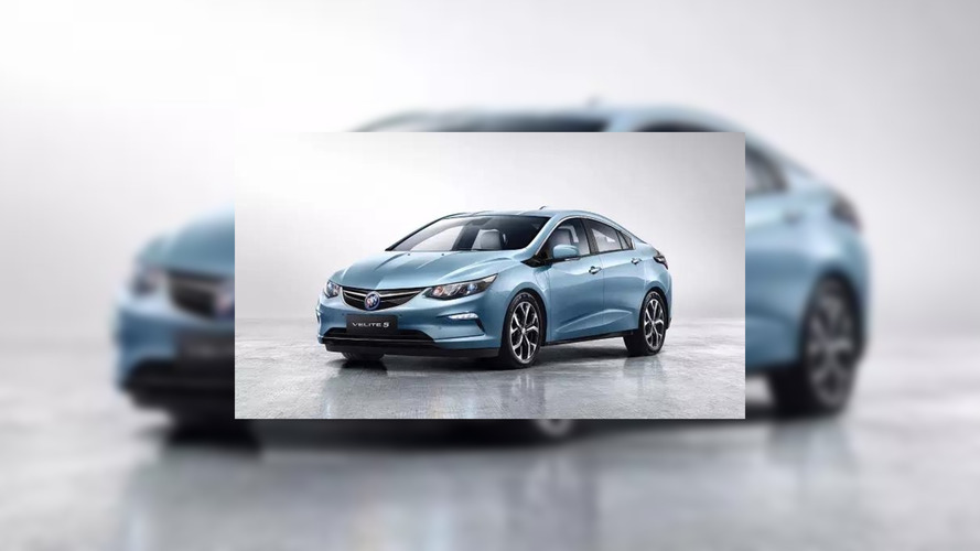 2018 Buick Velite 5 leaked official image