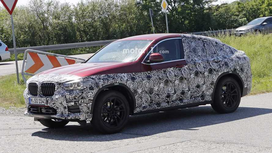 2019 BMW X4 Drops Some Camo For New Round Of Spy Shots