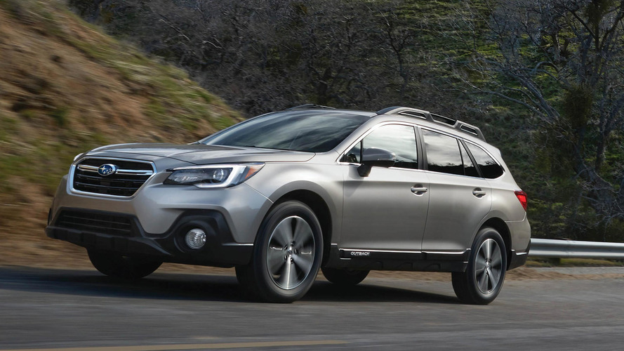 Refreshed 2018 Subaru Outback Introduces Sharper Look For $26,810