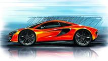 McLaren P13 design sketch