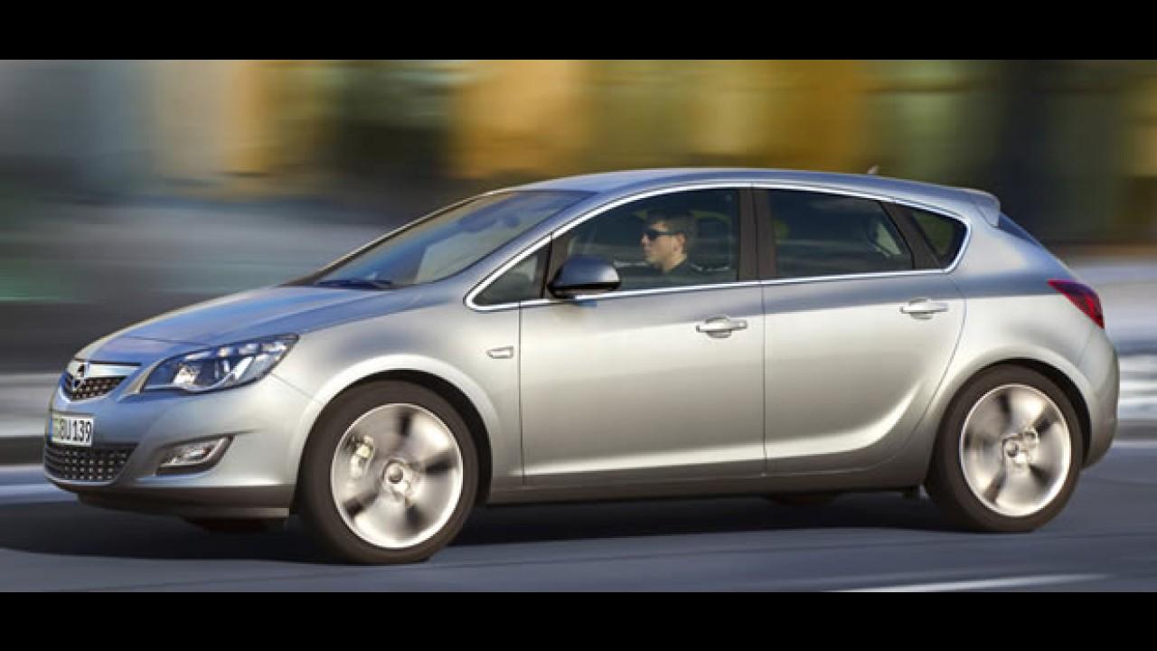 Viral: Sai da frente! Vídeo mostra Novo Astra europeu deixando para trás o Novo Golf e Focus