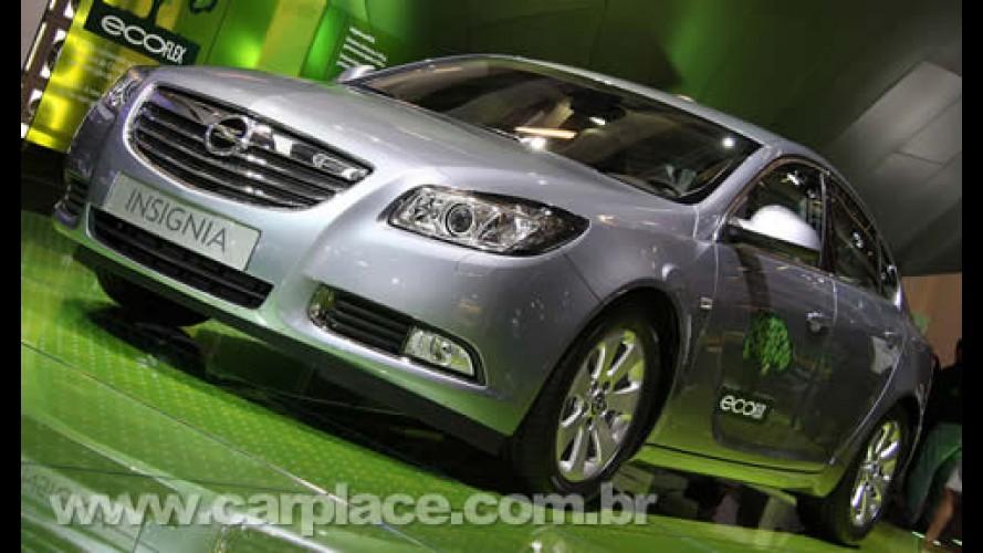 Opel Insignia ecoFLEX - Motor 2.0 de 160cv tem consumo de 19,23 km/litro