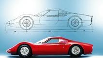 Artcurial met en vente l'unique prototype de la Ferrari Dino à Retromobile
