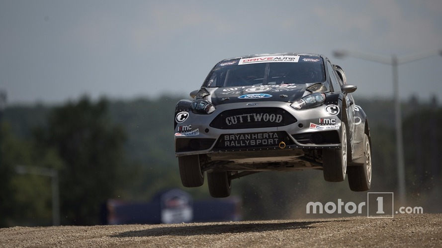 Riding shotgun with a Global Rallycross ace