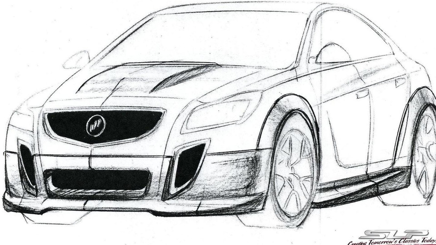 Buick GNX tuning concept by SLP revives old nameplate