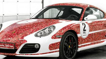 Porsche Cayman S 2,000,000 Facebook fan car - low res - 18.1.2012