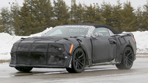 Chevy Camaro ZL1 Convertible spy photo