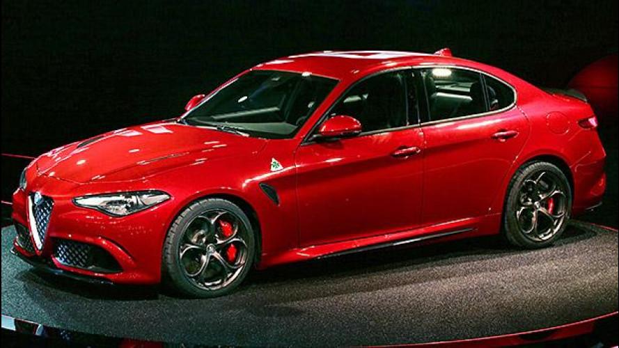 Alfa Romeo Giulia, la Quadrifoglio è a Monza