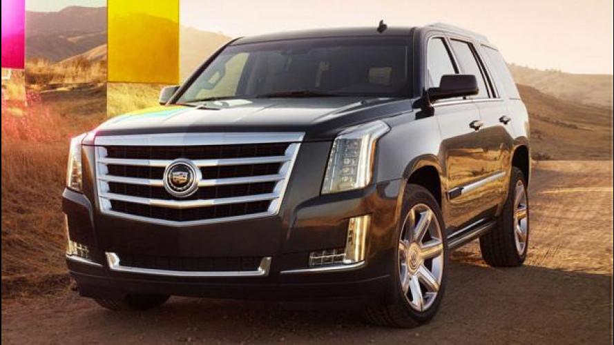 Cadillac Escalade, prezzo da 83.228 euro
