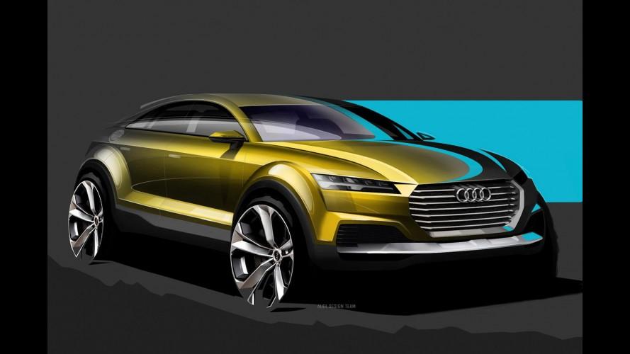 Salão de Pequim: Audi divulga esboços do inédito crossover Q4
