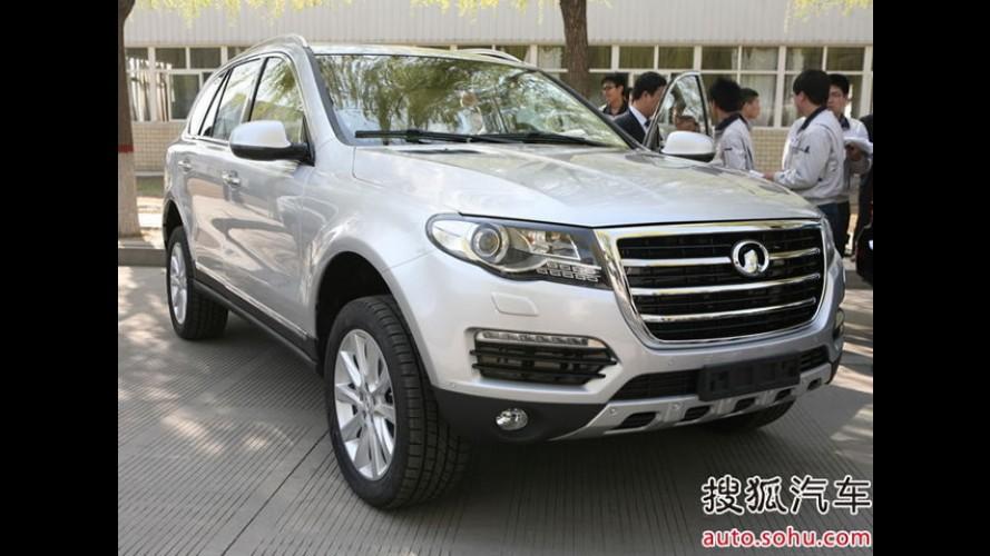 Great Wall revela o Hover H7 na China: SUV terá o motor mais potente já lançado pela marca