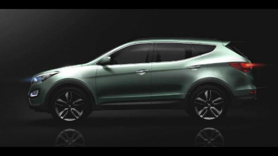 "Hyundai ""antecipa"" novo Santa Fe 2013"