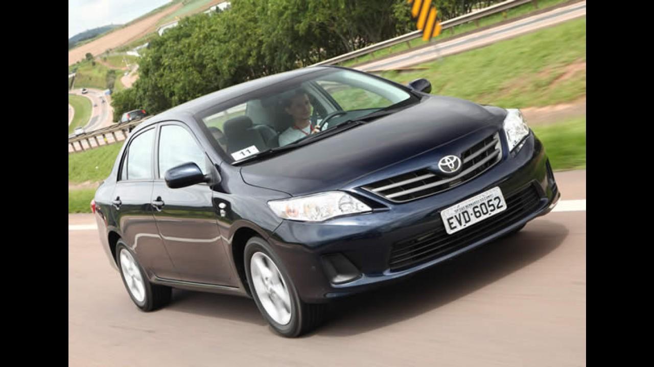 Toyota Corolla foi o carro que mais recebeu blindagem em 2010
