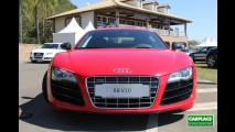 Audi R8 5.2 FSI V10 quattro: Andamos a mais de 200 km/h com o superesportivo