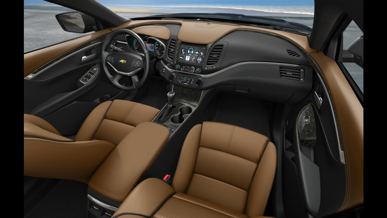 Nova geração do Chevrolet Impala custará o equivalente a R$ 57.377 nos Estados Unidos