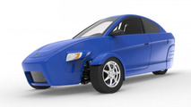Elio Motors three-wheeler due 2014 for 6,800 USD [video]
