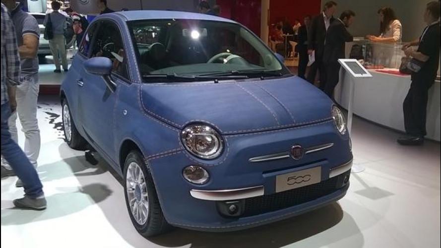 Salone di Parigi, la Fiat 500 si è messa anche i jeans