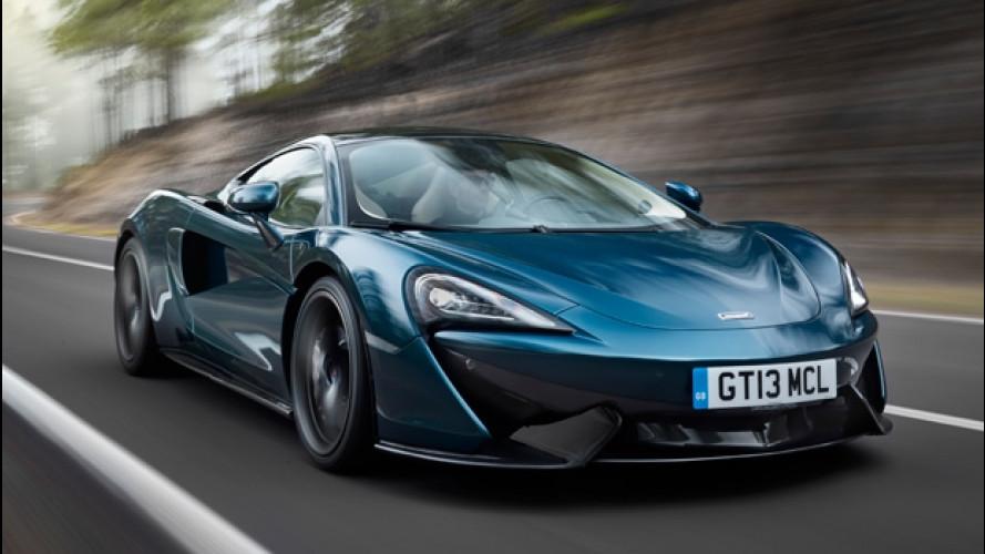 McLaren 570GT, granturismo a sorpresa