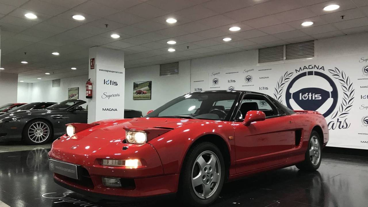 1992 acura nsx in tip