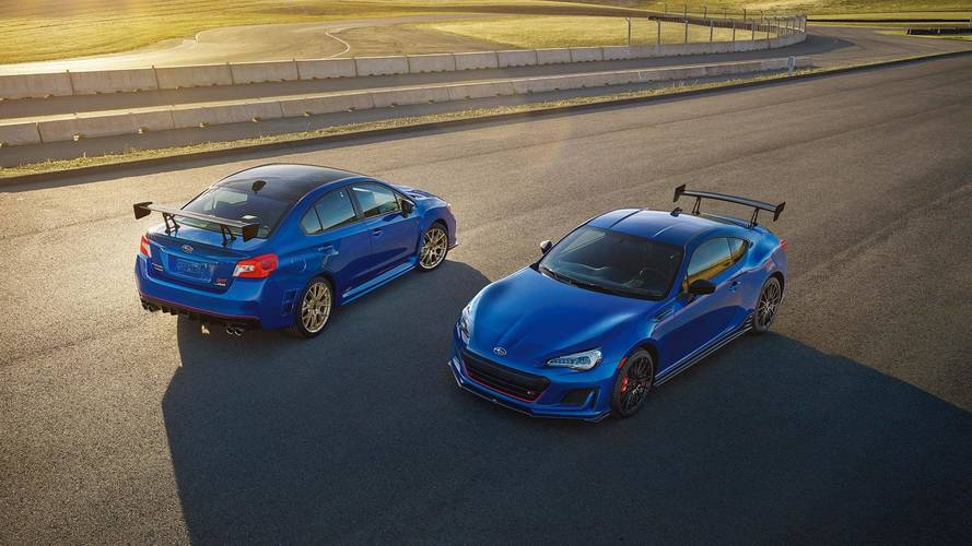 Subaru Prices Hardcore WRX STI Type RA And BRZ TS