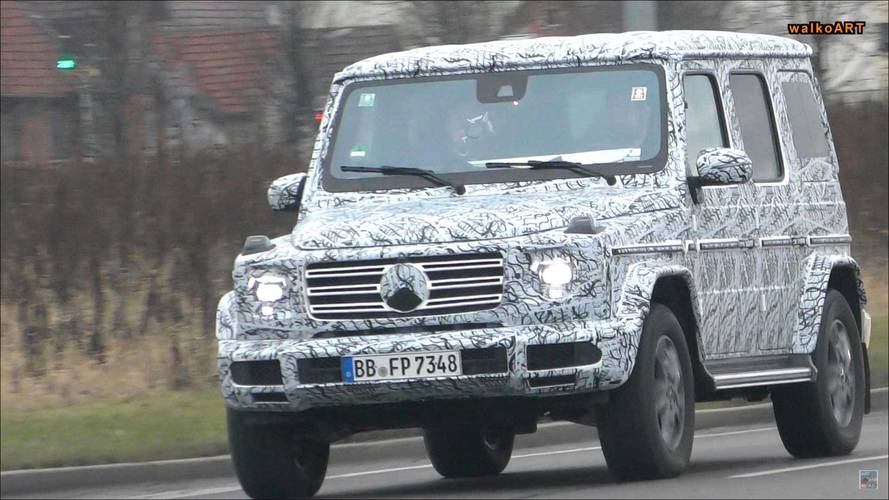 New Mercedes G-Class Looks Unmistakably Like A G In Spy Video