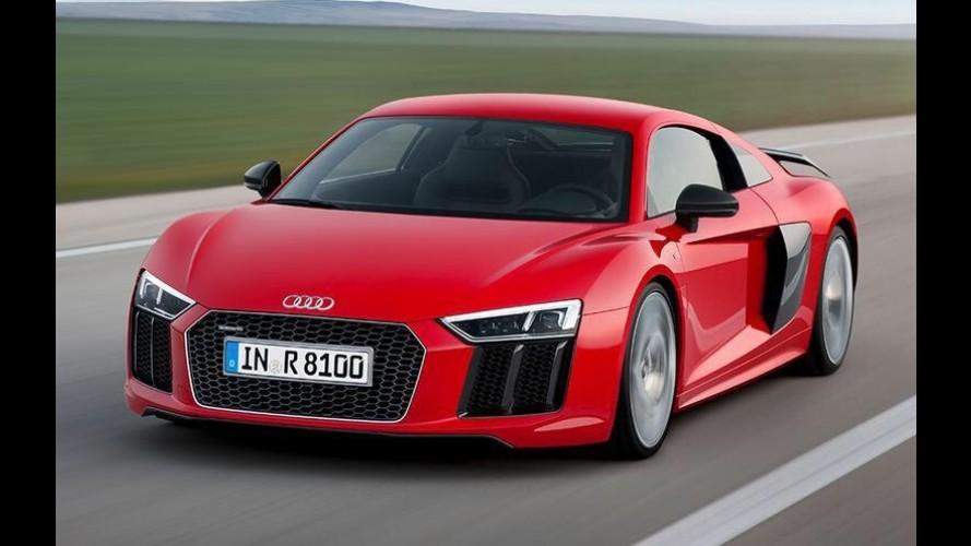 Downsizing: Audi R8 e Lamborghini Huracán podem ganhar motor 2.5 de cinco cilindros