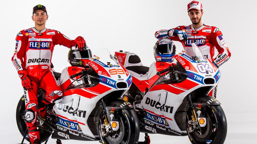 Galeria - Ducati apresenta moto de Lorenzo e Dovizioso