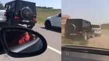 Mercedes ML & AMG G63 Crash