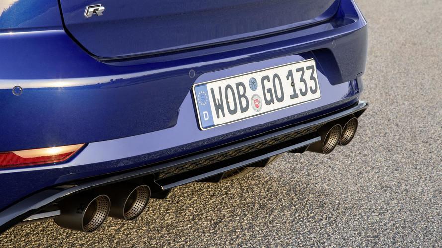 VW Golf R Performance Pack Has Akrapovic Exhaust, Lighter Brakes
