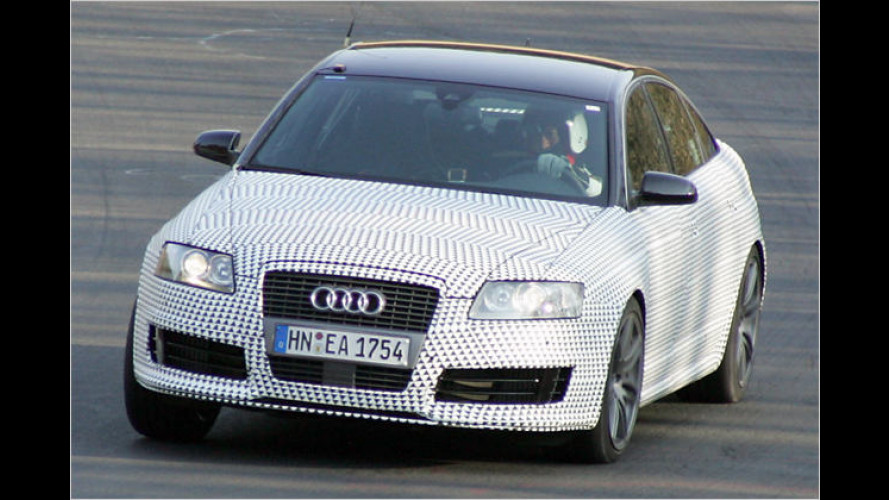Audi RS6: Erste Erlkönige werfen starken Schatten voraus