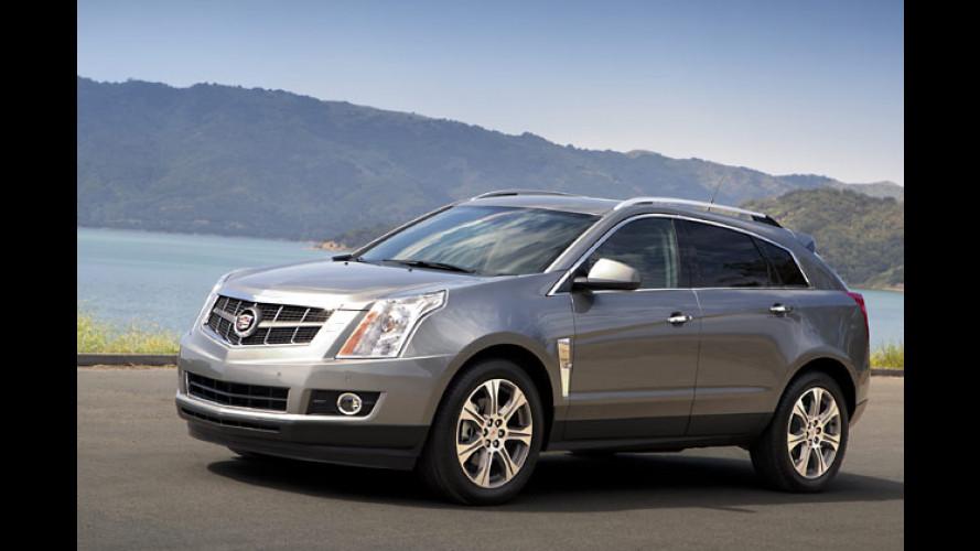 Cadillac SRX: Neuer V6 mit mehr Leistung und Eco-Modus