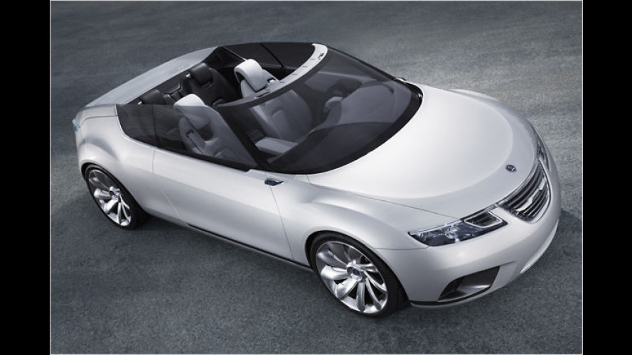 Saab 9-X Air Concept: Ein Cabrio mit ungewöhnlichen Ideen