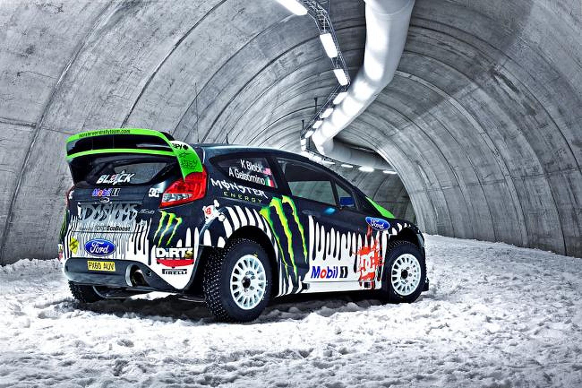 Tech Ride: Ken Block\'s Ford Fiesta RS Rally Car | Motor1.com Photos