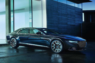 New Aston Martin Lagonda is Big, Brash and Kind of Ugly