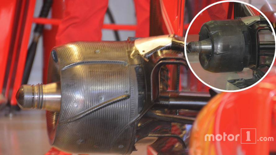 Ferrari SF16-H rear brake drum