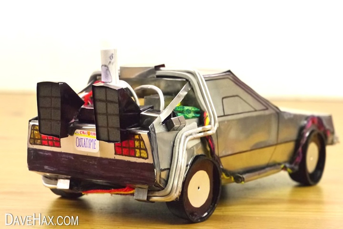 Watch How a Pepsi Can Becomes a DeLorean Time Machine