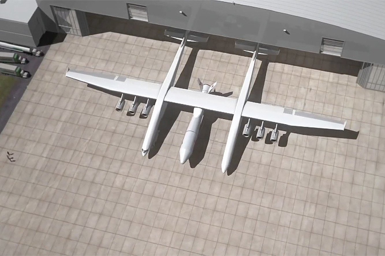 The Stratolaunch Will Soon Be the Largest Plane in the World