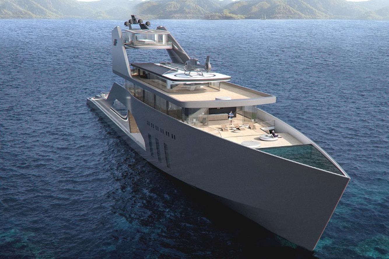 Hareide Design's Mega Yacht is the Stuff of Dreams
