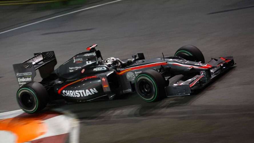 Singapore was 'one-off' race for HRT - Klien