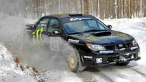 Dave Mirra Subaru WRX STI - NH Rally winner