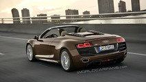 Audi R8 Spider Leaked Image