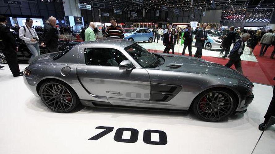 BRABUS 700 Biturbo based on Mercedes SLS AMG revealed in Geneva