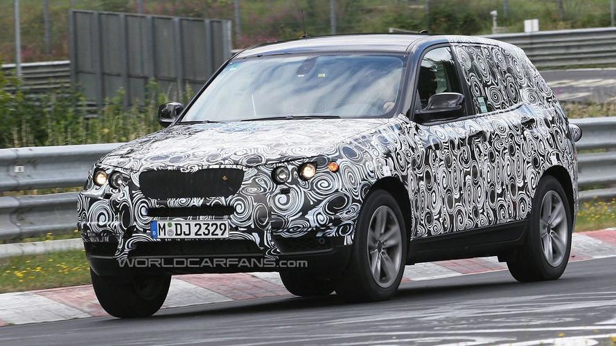 2011 BMW X3 Begins High Speed Testing at Nurburgring