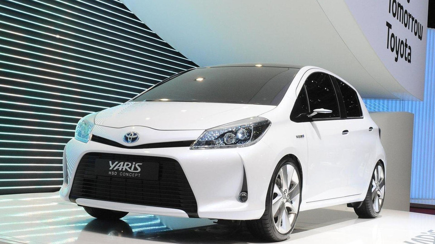 Toyota Yaris HSD Concept debuts in Geneva