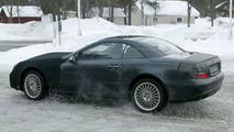 SPY PHOTOS: Mercedes SL Facelift