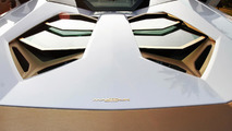 Lamborghini Aventador Roadster National Day Golden Limited Edition by Maatouk Design London