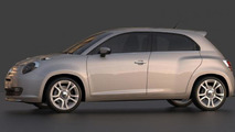 Fiat 600 renderings preview a Punto successor