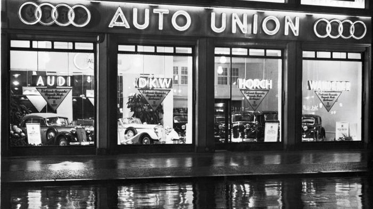 Auto Union showroom